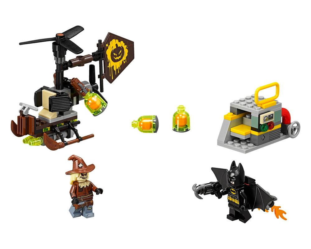 LEGO Set 70913-1 Scarecrow Fearful Face-off (Model - A-Model)