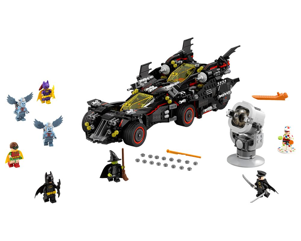 LEGO Set 70917-1 The Ultimate Batmobile (LEGO - Model)