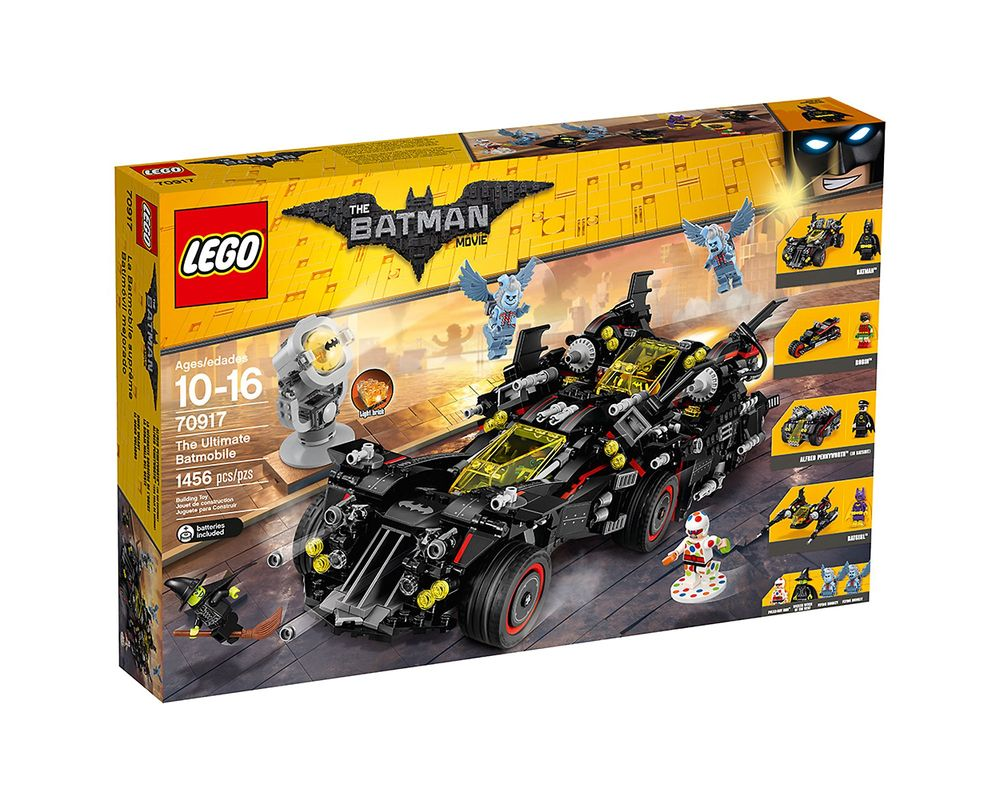 LEGO Set 70917-1 The Ultimate Batmobile