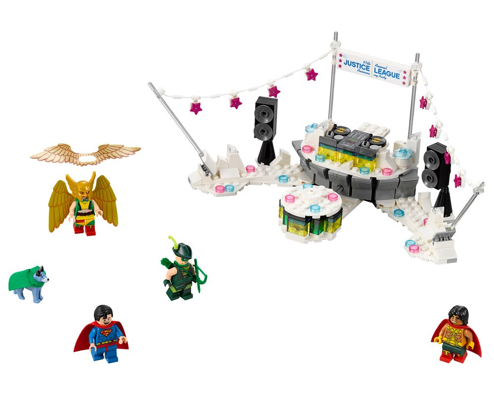LEGO Set 70919-1 The Justice League Anniversary Party (Model - A-Model)
