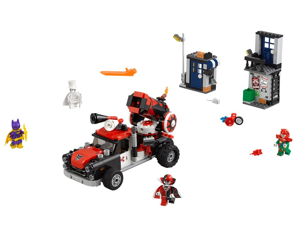 LEGO Set 70921-1 Harley Quinn Cannonball Attack (Model - A-Model)