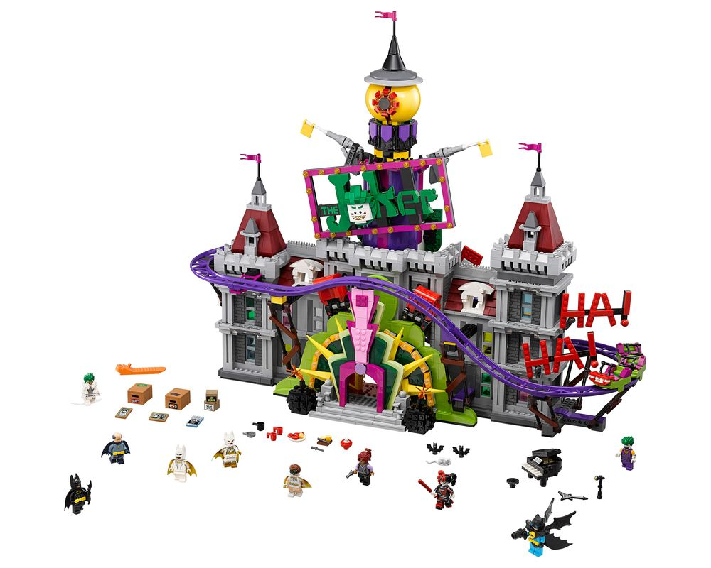 LEGO Set 70922-1 The Joker Manor (Model - A-Model)