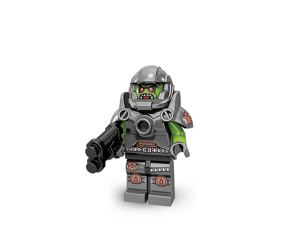 LEGO Set 71000-11 Alien Avenger - Complete Set (Model - A-Model)