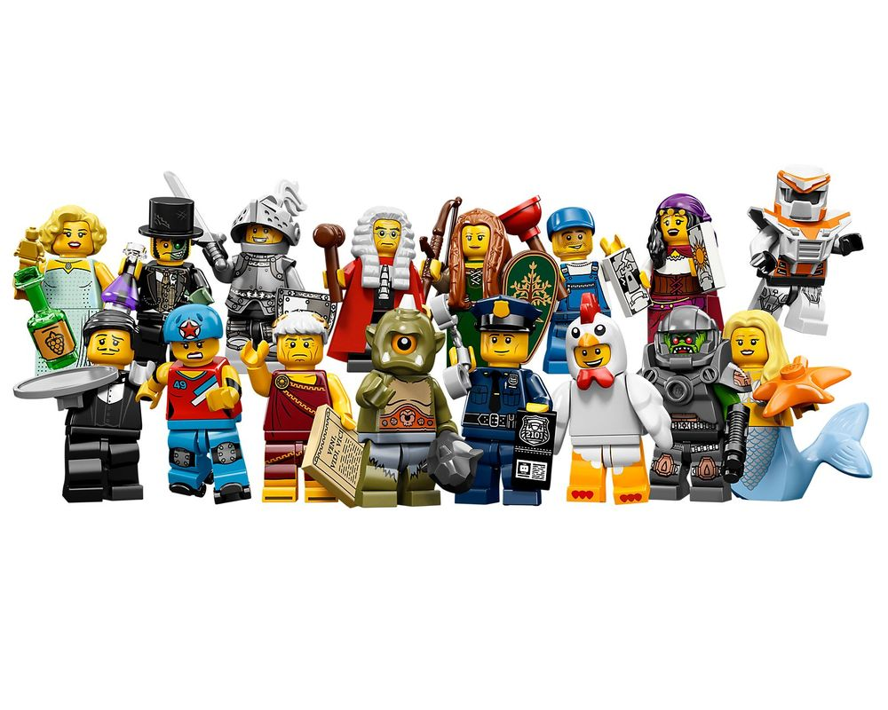 LEGO Set 71000-17 Minifigures Series 9 - Complete