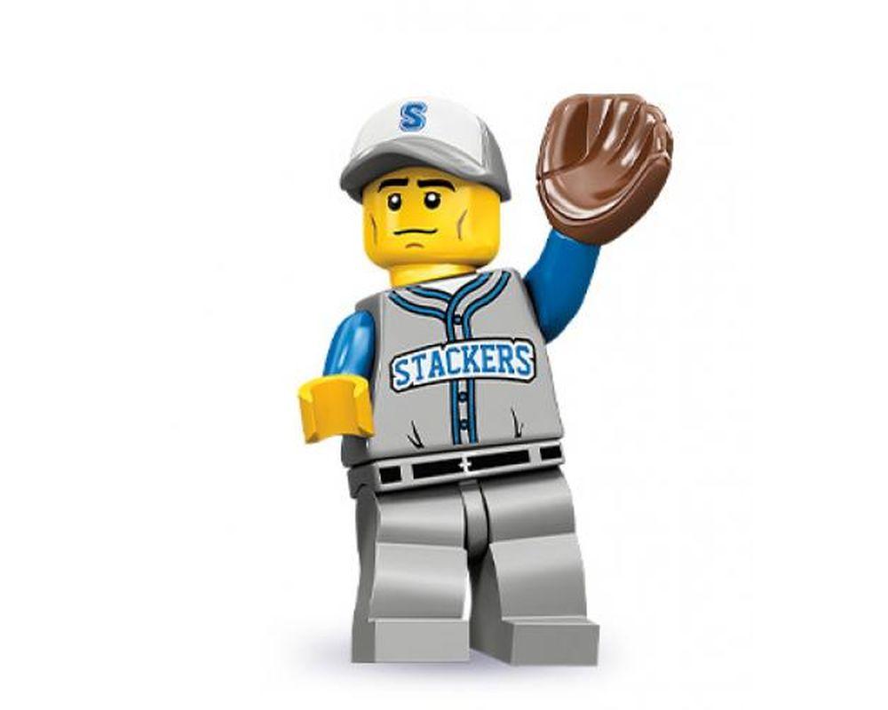 LEGO Set 71001-13 Baseball Fielder - Complete Set (Model - A-Model)