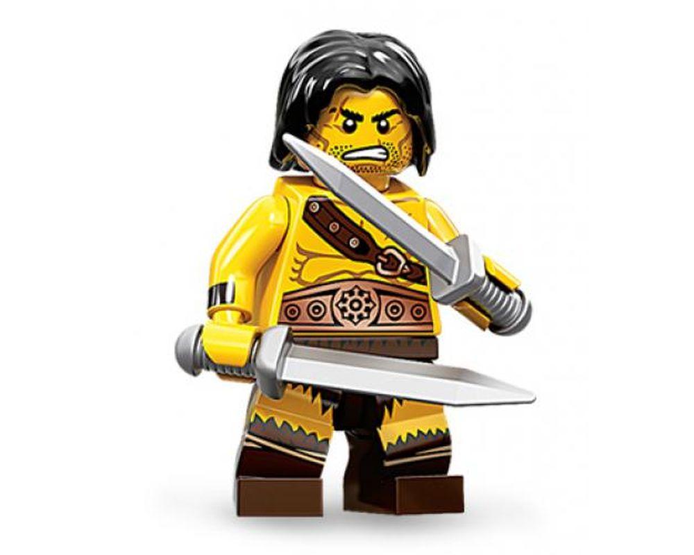LEGO Set 71002-1 Barbarian - Complete Set (Model - A-Model)