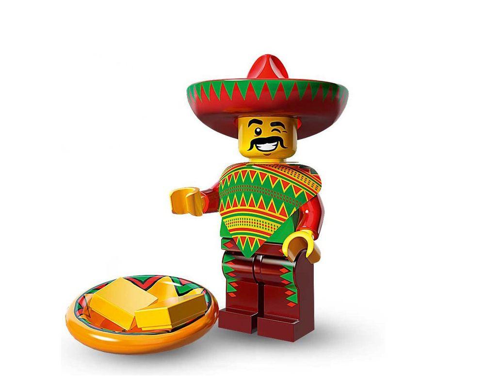 LEGO Set 71004-12 Taco Tuesday Man (LEGO - Model)