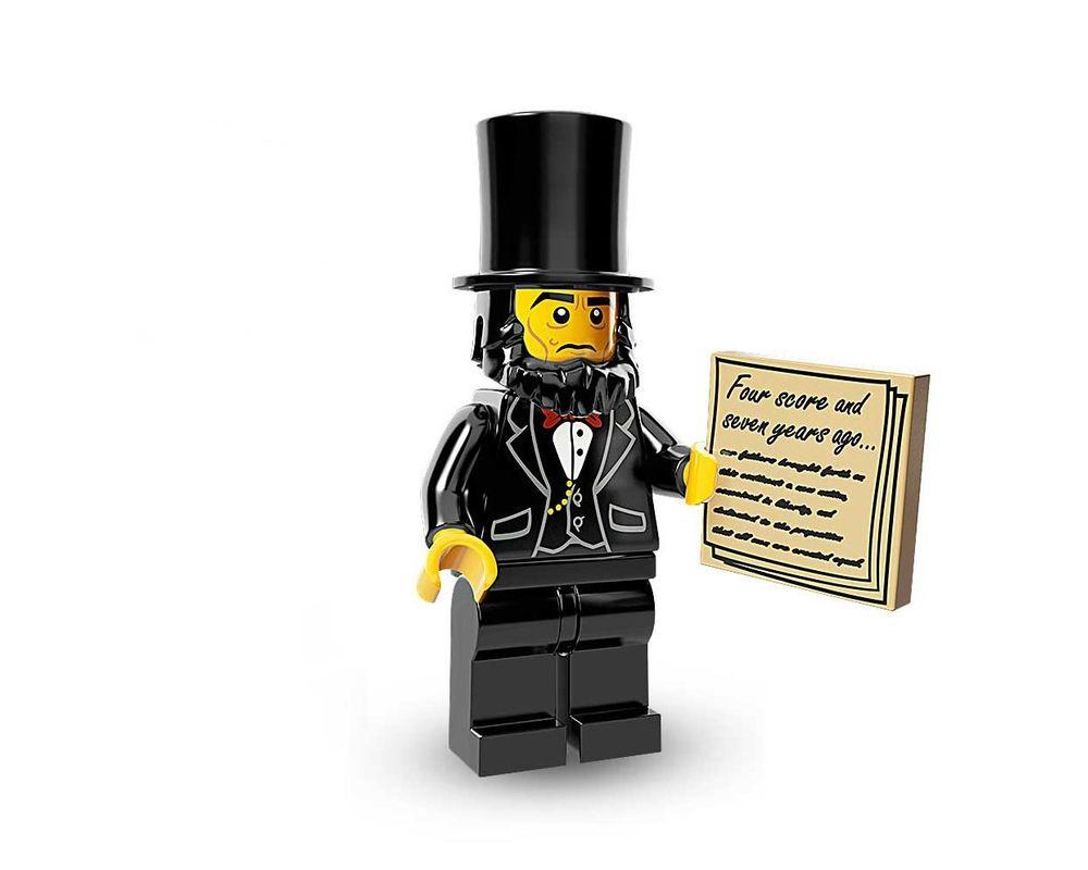 LEGO Set 71004-5 Abraham Lincoln (LEGO - Model)