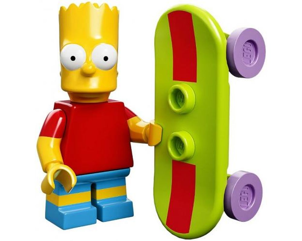 LEGO Set 71005-2 Bart Simpson (LEGO - Model)