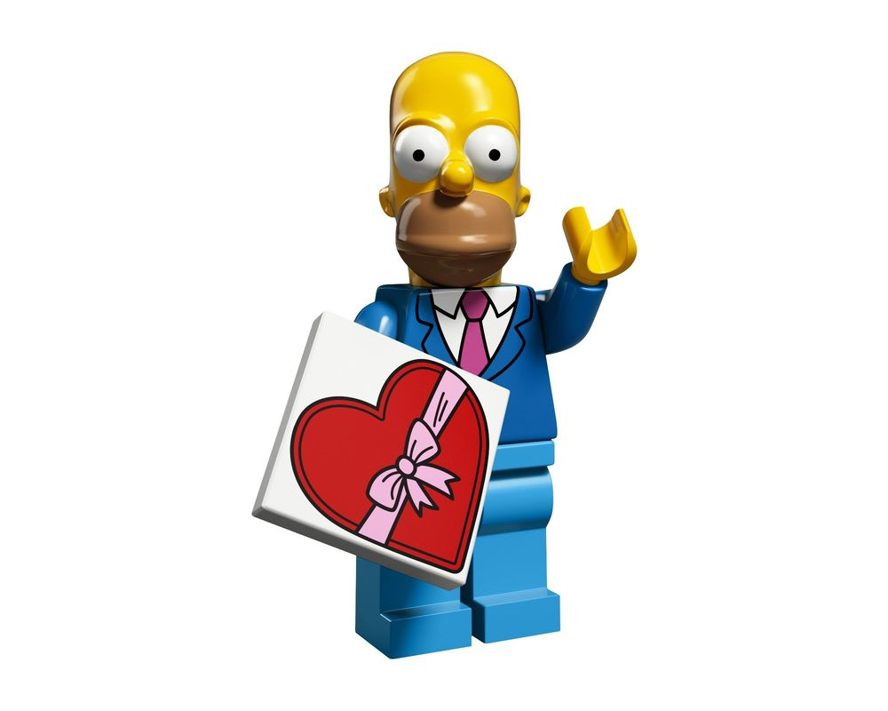 LEGO Set 71009-1 Homer (Model - A-Model)