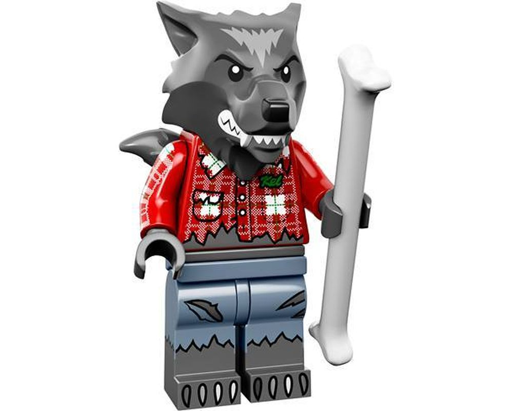 LEGO Set 71010-1 Wolf Guy (Model - A-Model)