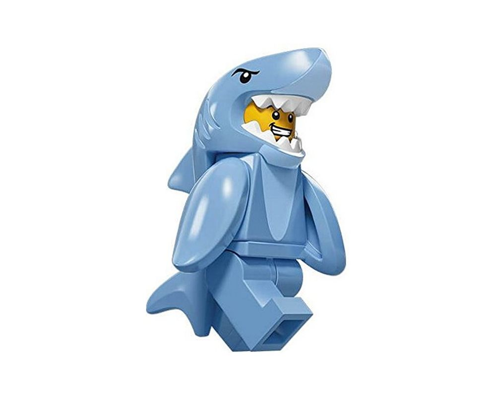 LEGO Set 71011-13 Shark Suit Guy (LEGO - Model)