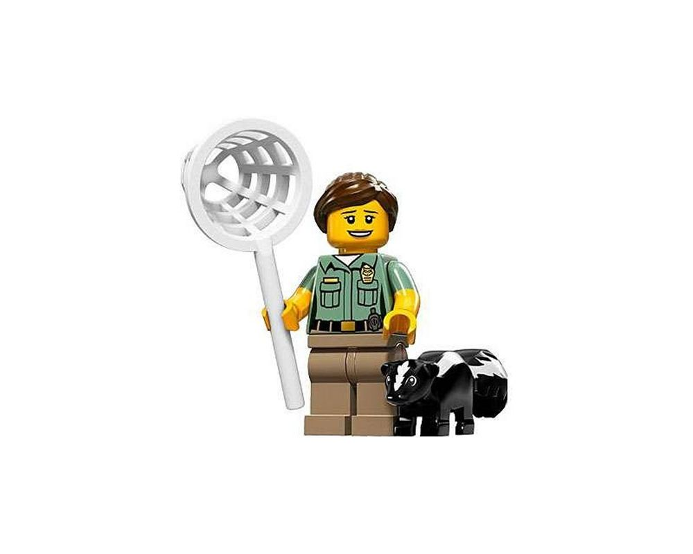LEGO Set 71011-8 Animal Control Officer (Model - A-Model)