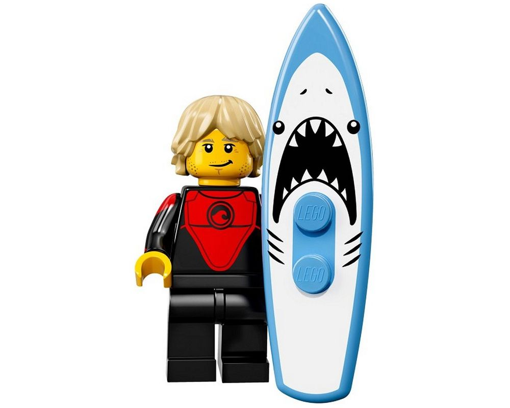 LEGO Set 71018-1 Professional Surfer (Model - A-Model)