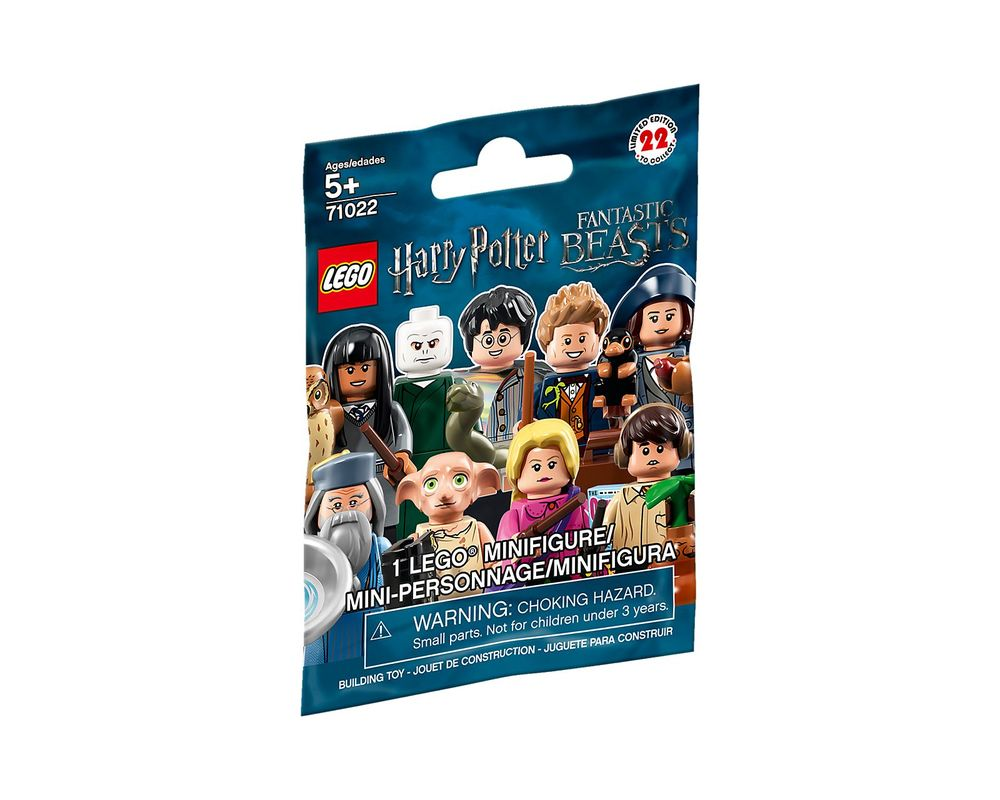 LEGO Set 71022-4 Draco Malfoy (Quidditch)