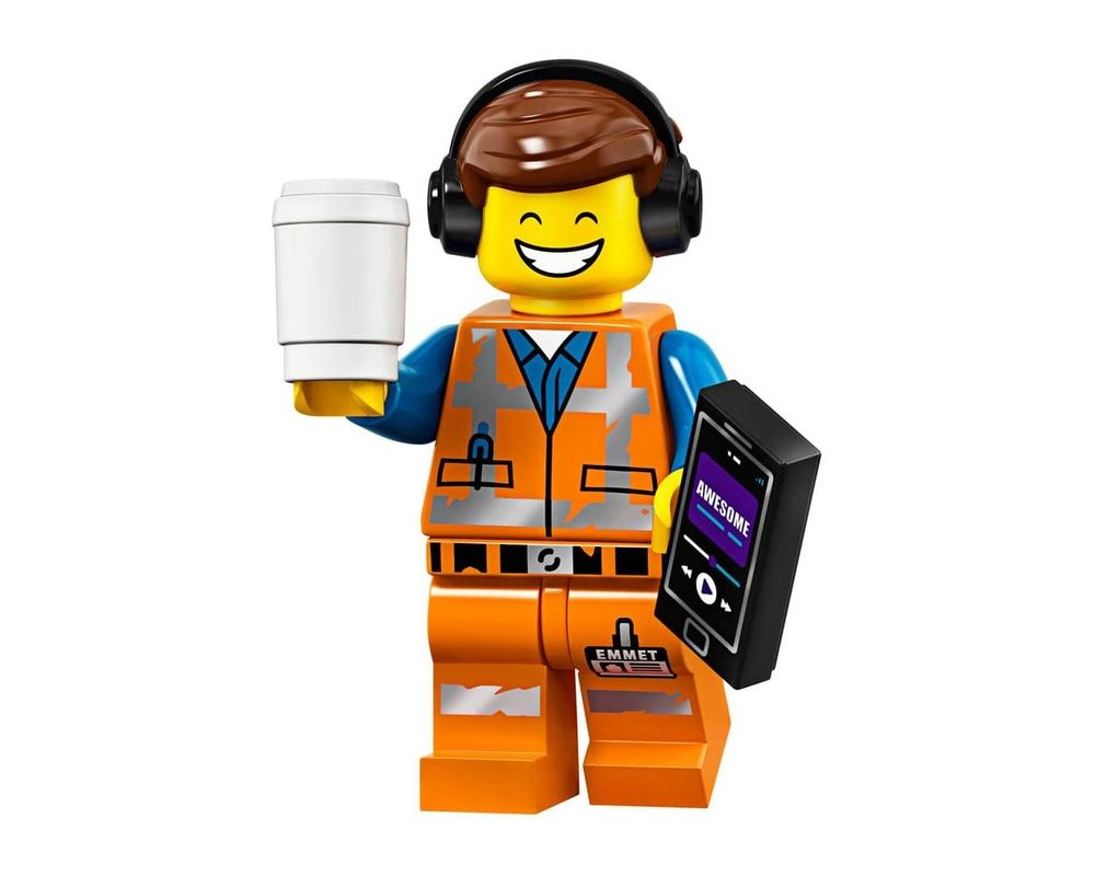 LEGO Set 71023-1 Awesome Remix Emmet (Model - A-Model)