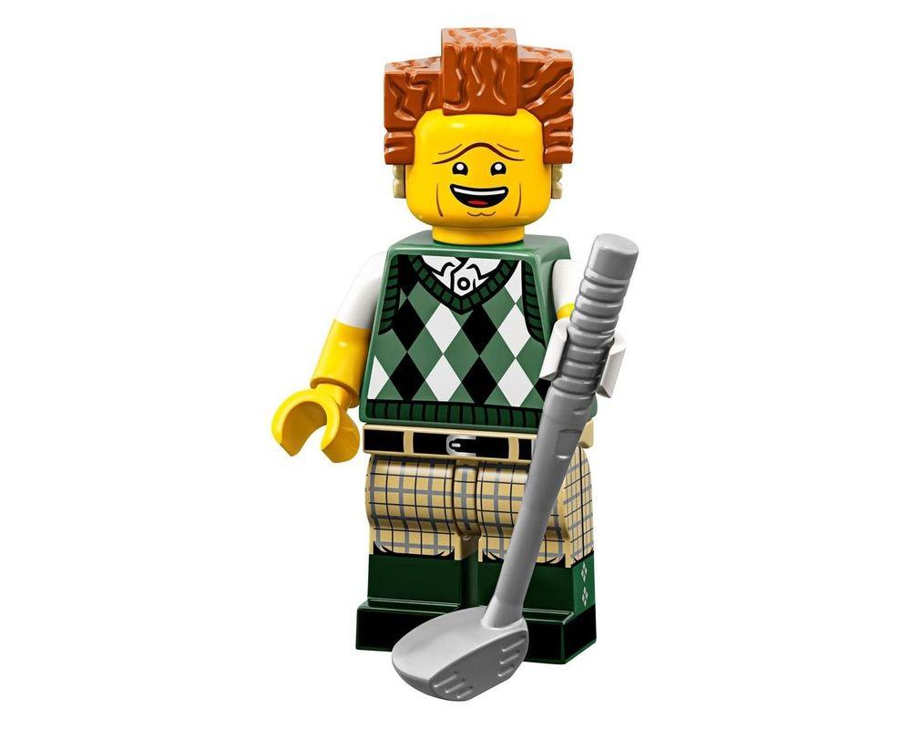 LEGO Set 71023-12 Gone Golfin' President Business (Model - A-Model)
