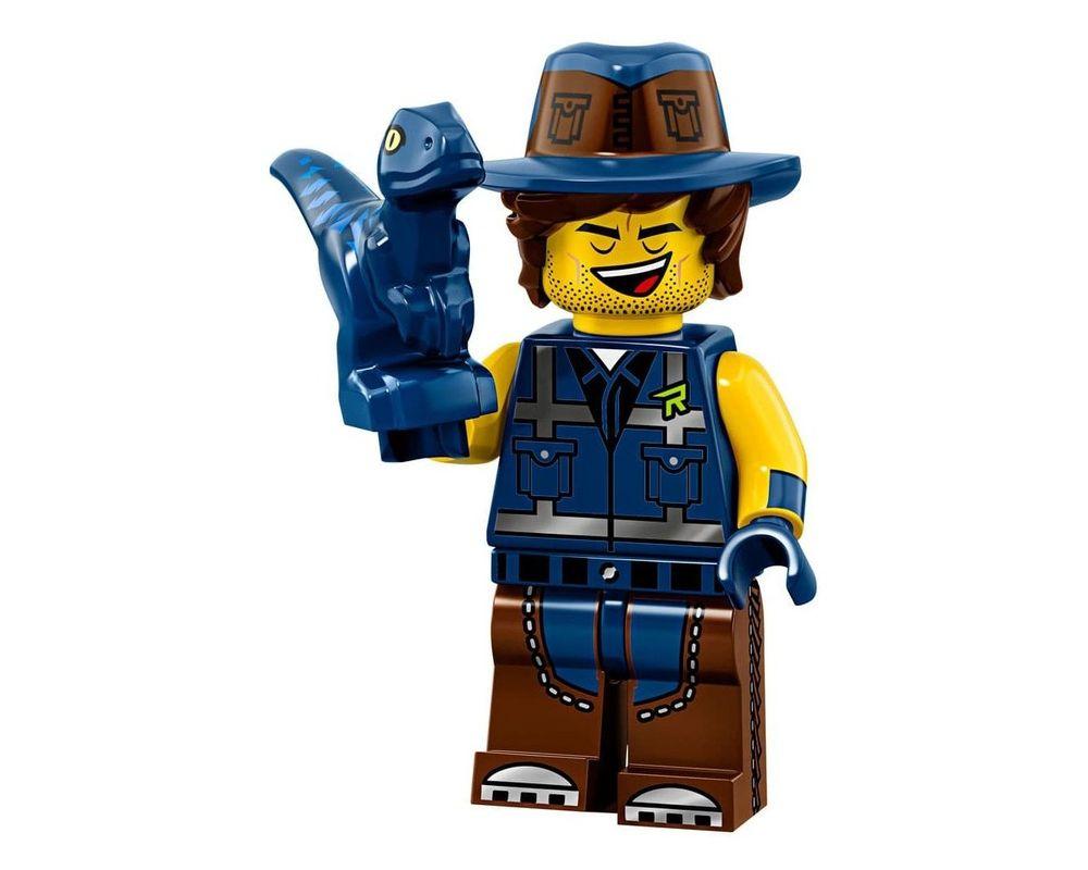 LEGO Set 71023-14 Vest Friend Rex (Model - A-Model)