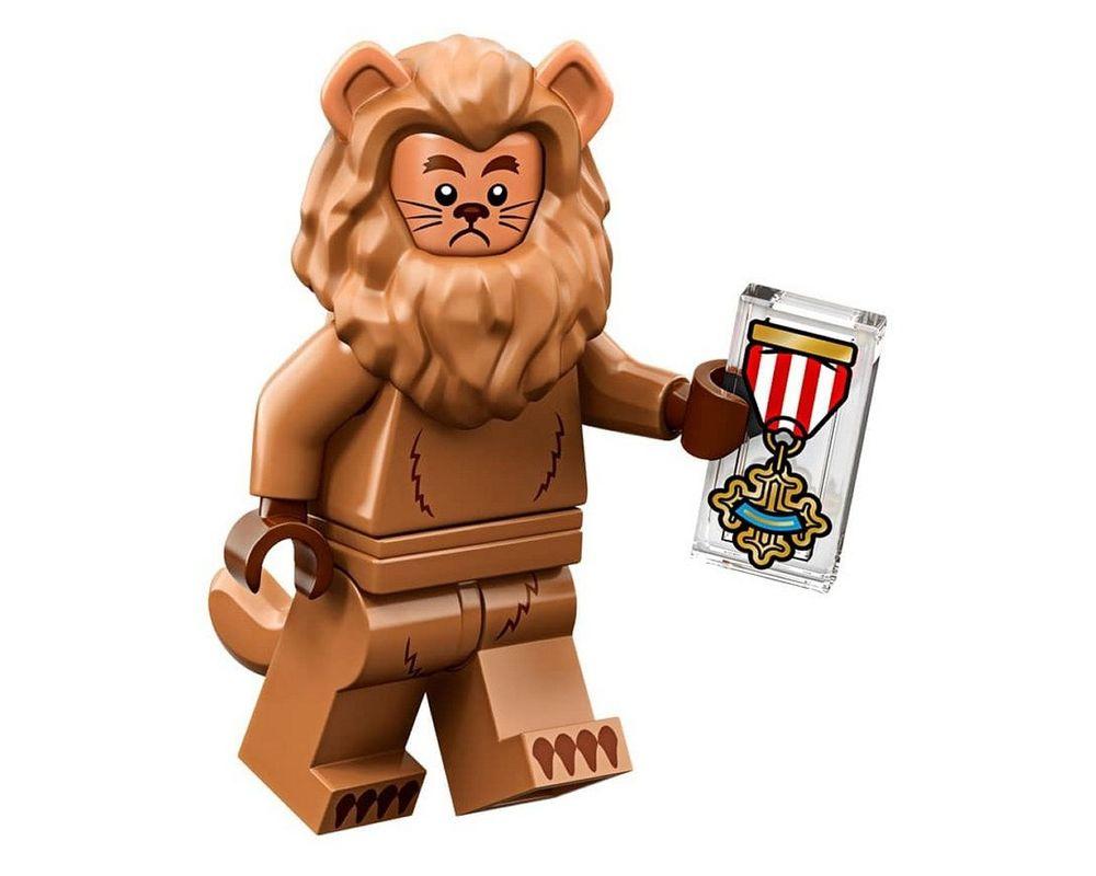 LEGO Set 71023-17 Cowardly Lion (Model - A-Model)