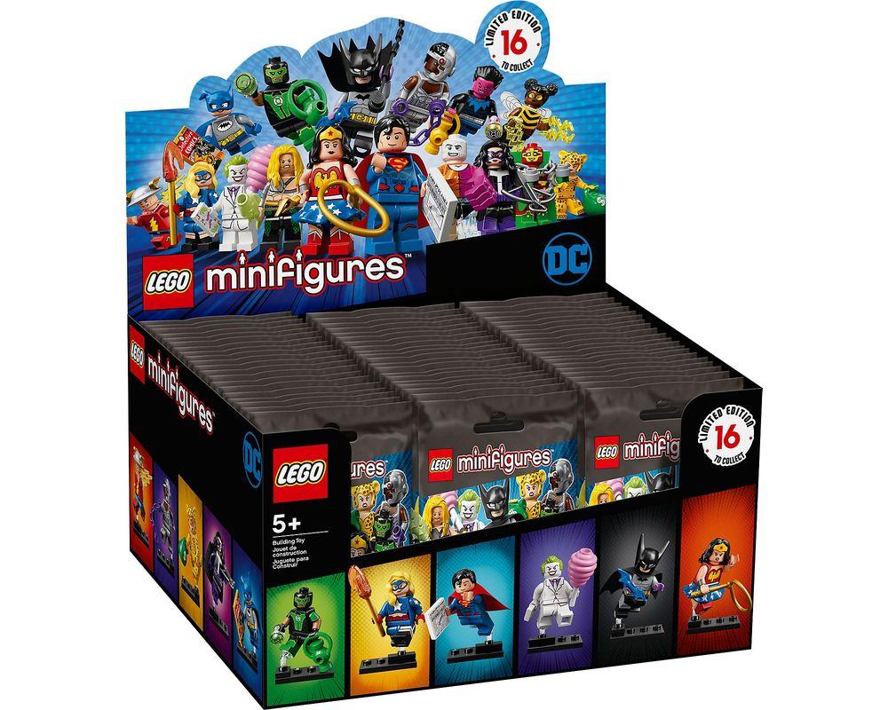 LEGO Set 71026-18 LEGO Minifigures - DC Comics - Sealed Box (Box - Front)