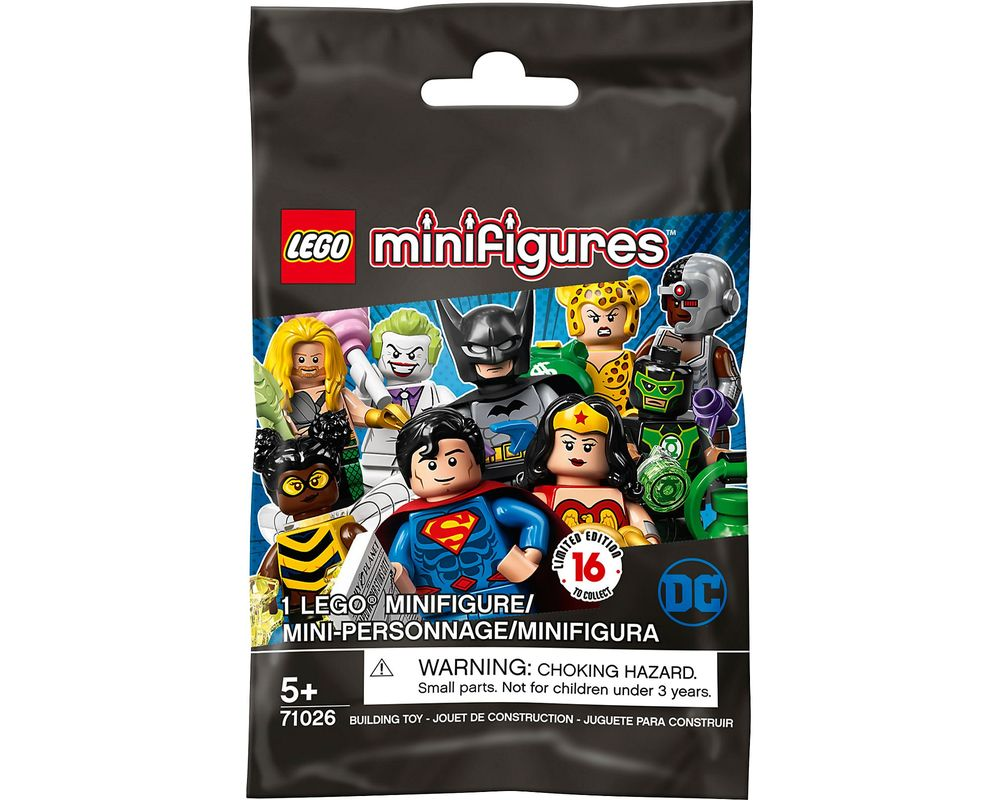 LEGO FIGURINE MINIFIGURINE MARVEL DC COMICS 71026 N° 6  CHEETAH LA FEMME LEOPARD