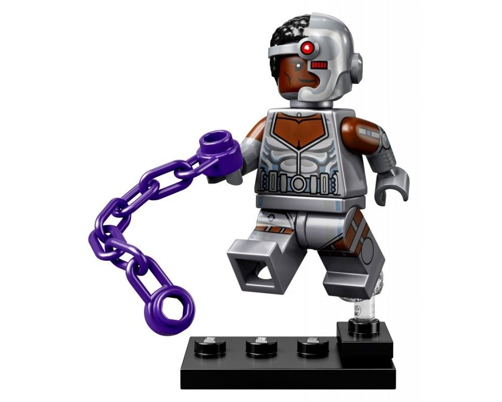 LEGO Set 71026-9 Cyborg (Model - A-Model)