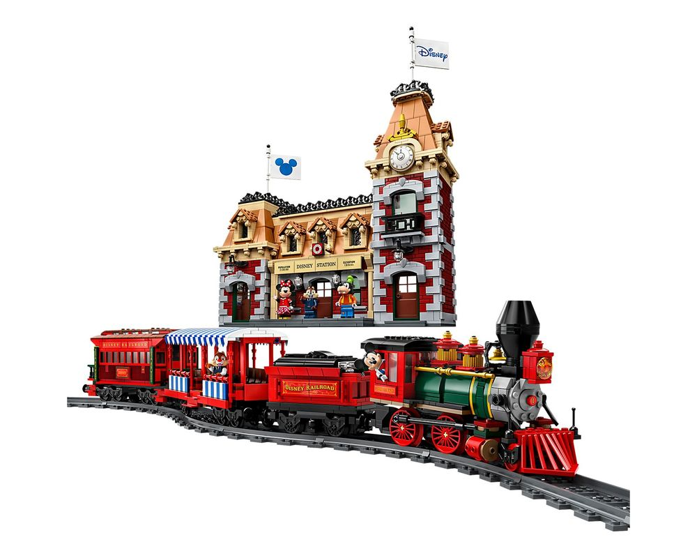 LEGO Set 71044-1 Disney Train and Station (Model - A-Model)