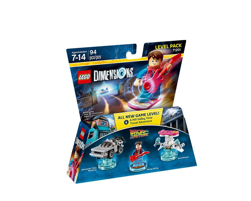 LEGO Set 71201-1 Back to the Future Level Pack
