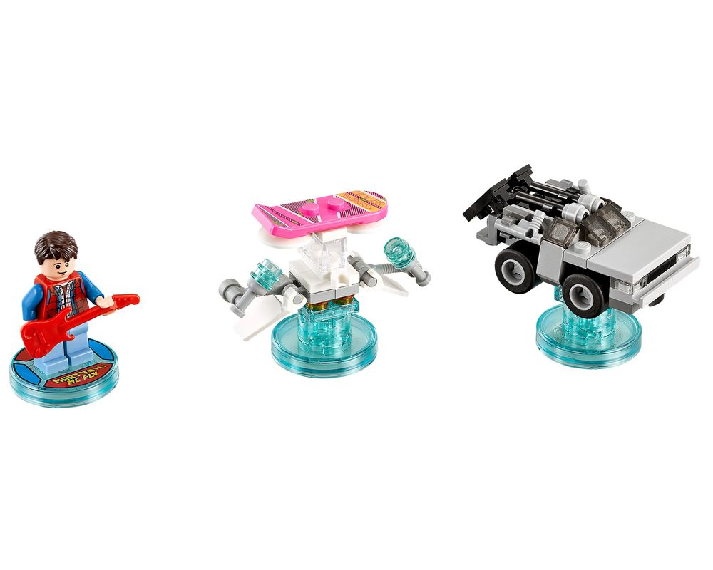 LEGO Set 71201-1 Back to the Future Level Pack (Model - A-Model)