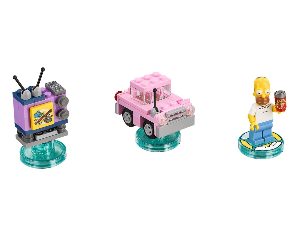 LEGO Set 71202-1 The Simpsons Level Pack (LEGO - Model)