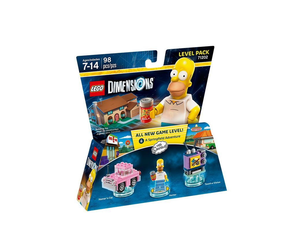LEGO Set 71202-1 The Simpsons Level Pack