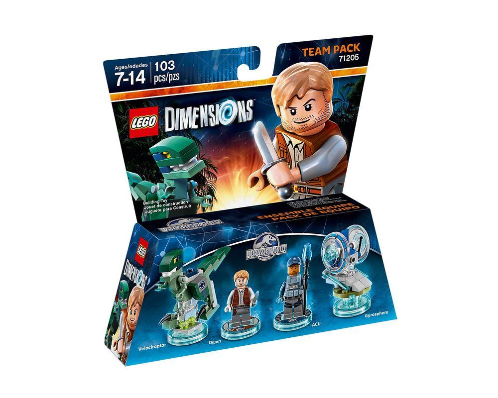 LEGO Set 71205-1 Jurassic World Team Pack
