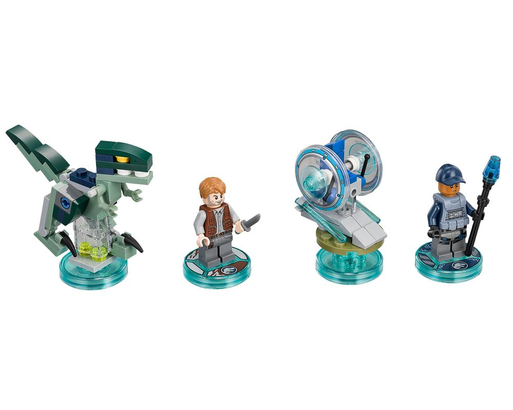 LEGO Set 71205-1 Jurassic World Team Pack (LEGO - Model)