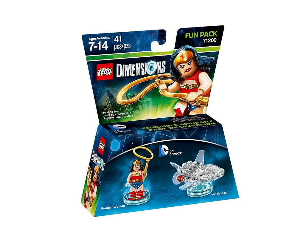 LEGO Set 71209-1 Wonder Woman Fun Pack