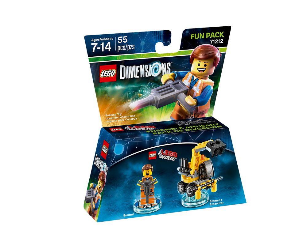 LEGO Set 71212-1 Emmet Fun Pack