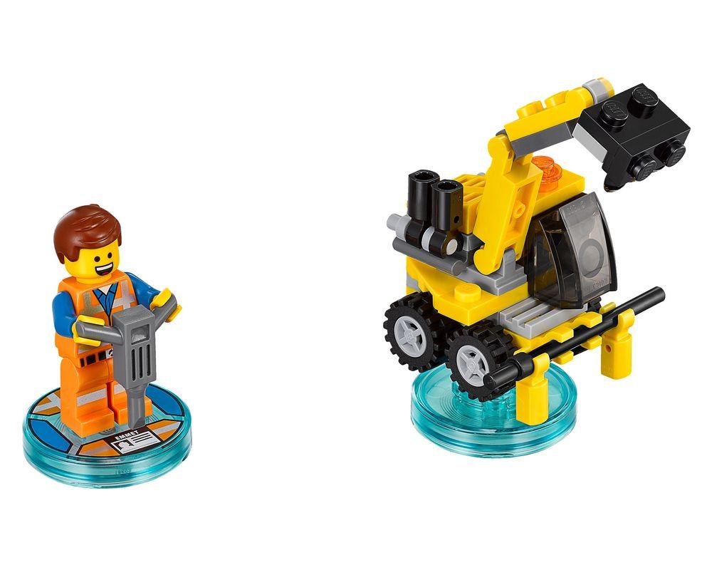 LEGO Set 71212-1 Emmet Fun Pack (Model - A-Model)