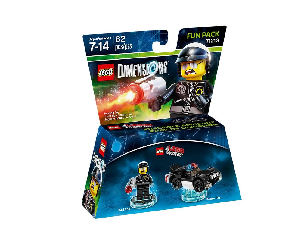 LEGO Set 71213-1 Bad Cop Fun Pack