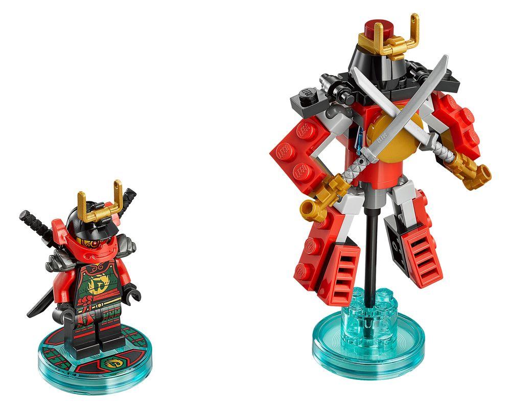 LEGO Set 71216-1 Nya Fun Pack (Model - A-Model)