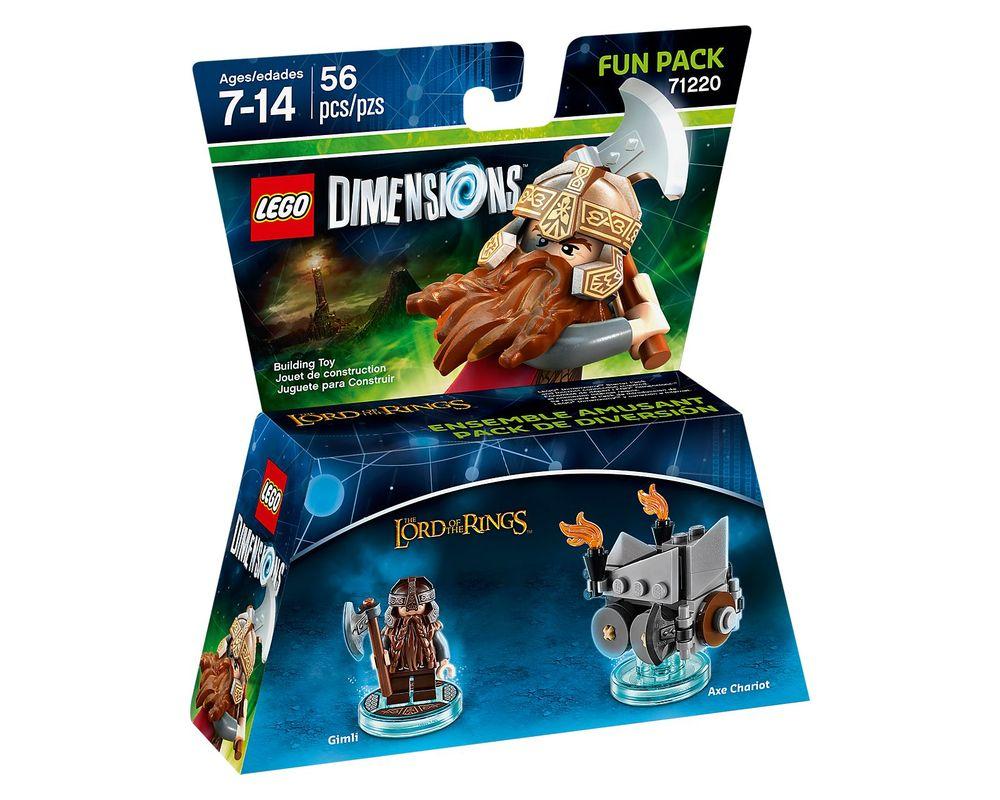 LEGO Set 71220-1 Gimli Fun Pack