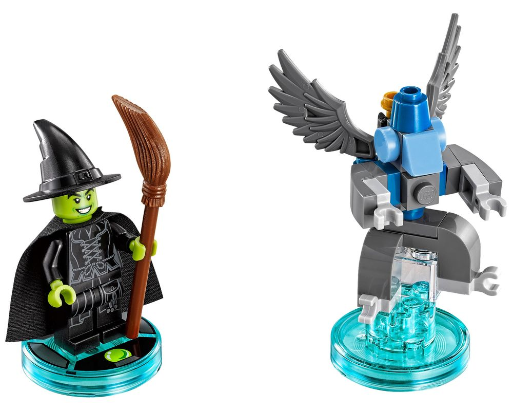 LEGO Set 71221-1 Wicked Witch Fun Pack (LEGO - Model)