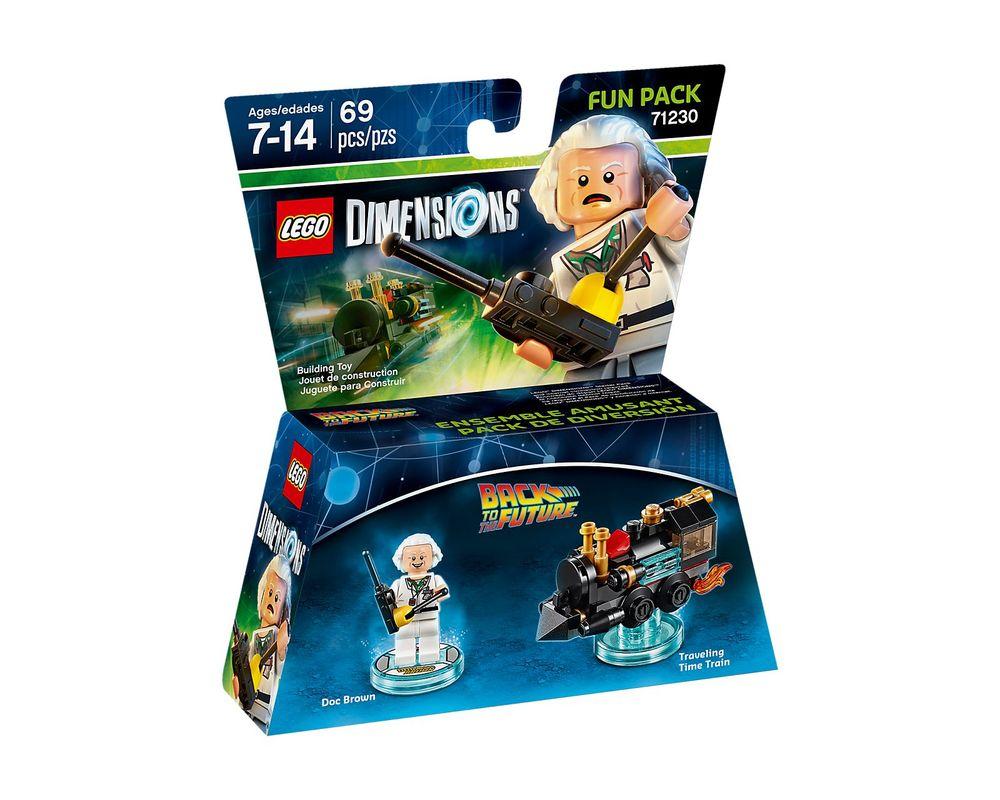 LEGO Set 71230-1 Doc Brown Fun Pack