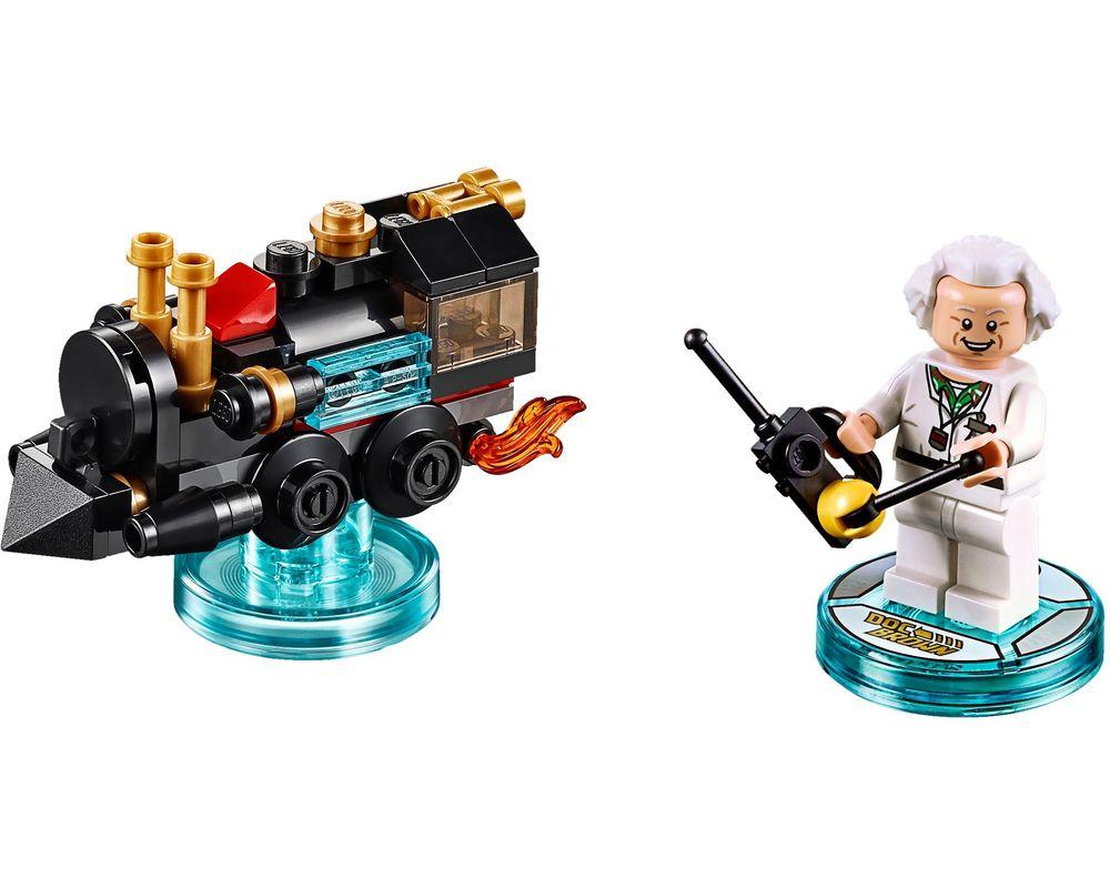 LEGO Set 71230-1 Doc Brown Fun Pack (LEGO - Model)