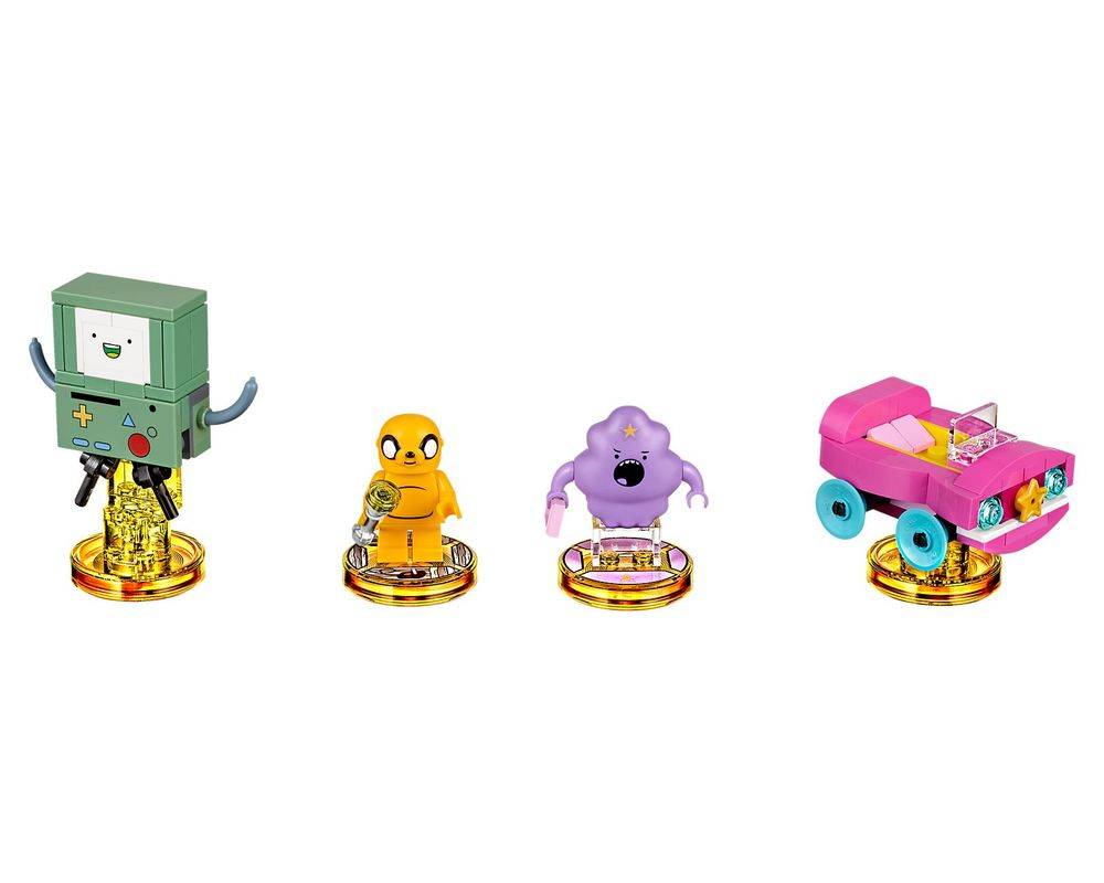 LEGO Set 71246-1 Adventure Time Team Pack