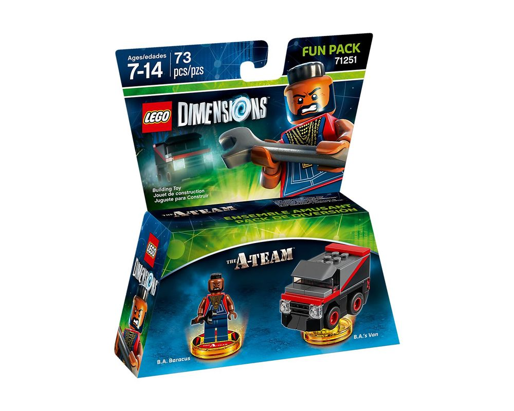 LEGO Set 71251-1 A-Team Fun Pack