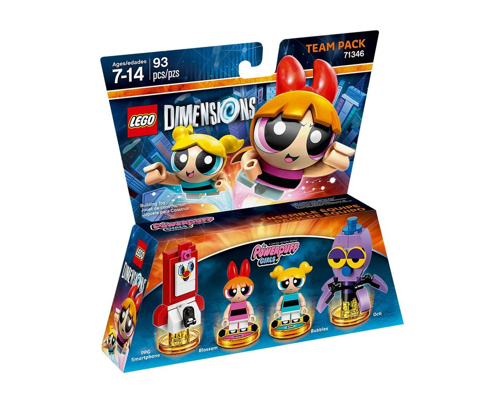 LEGO Set 71346-1 The Powerpuff Girls Team Pack