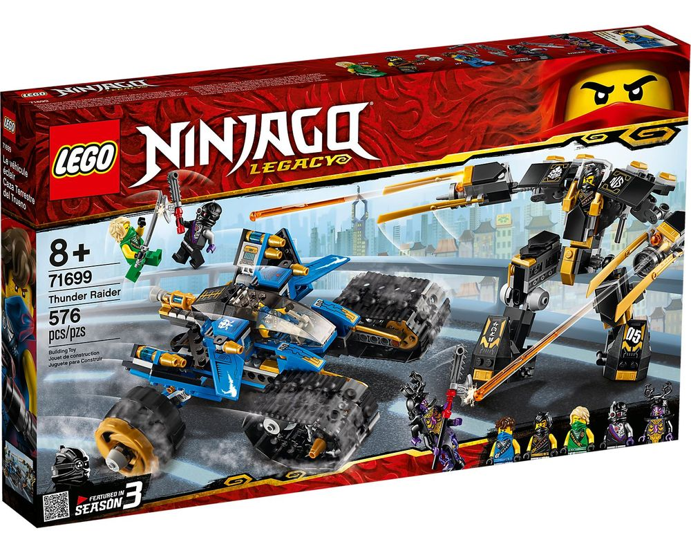 LEGO Set 71699-1 Thunder Raider (Box - Front)
