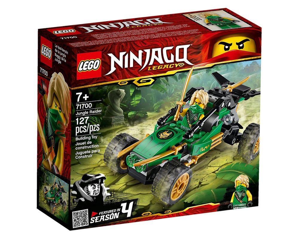 LEGO Set 71700-1 Jungle Raider (Box - Front)