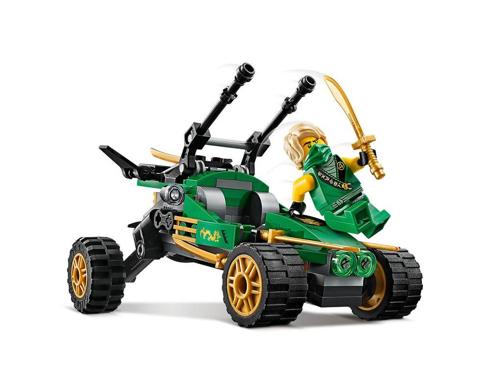LEGO Set 71700-1 Jungle Raider (Model - A-Model)