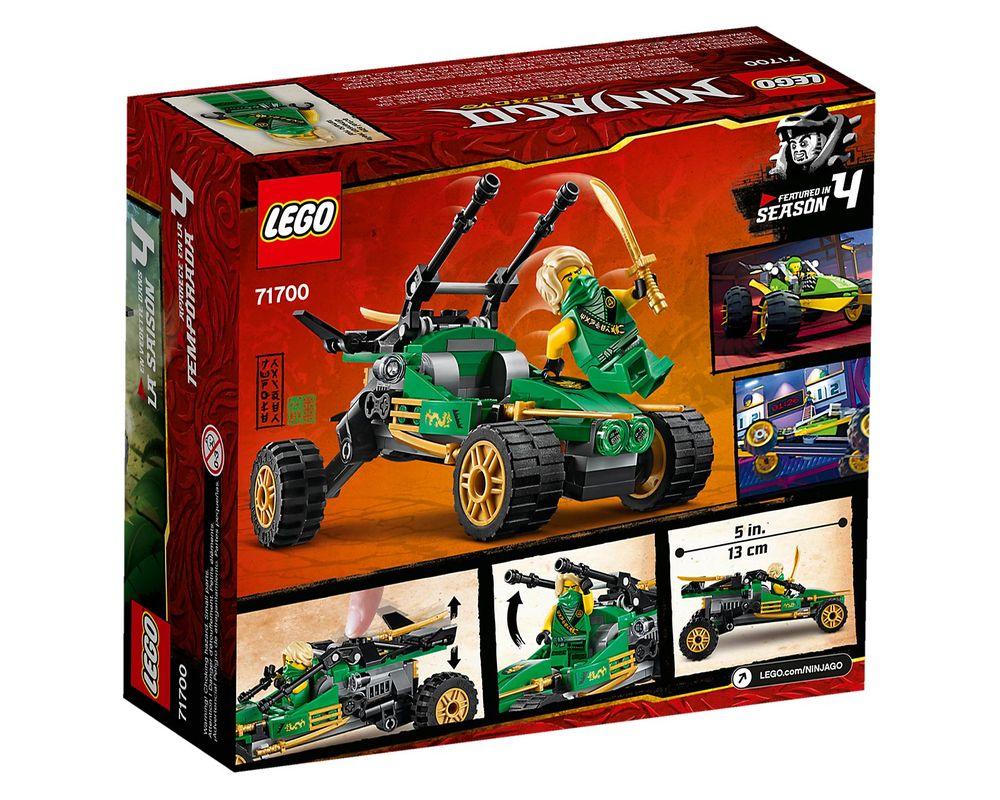 LEGO Set 71700-1 Jungle Raider (Box - Back)