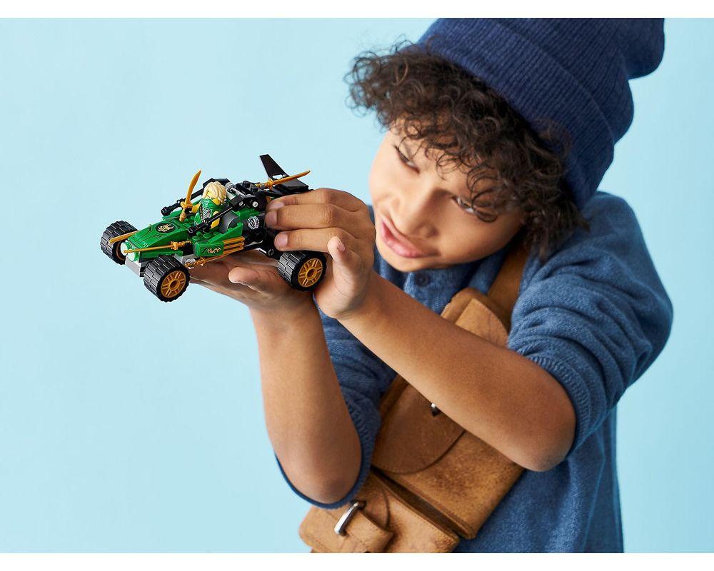 LEGO Set 71700-1 Jungle Raider (Model - Other)